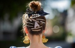 DIY hair accessories for summer weekend