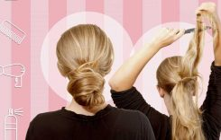 Easy DIY party hairstyles