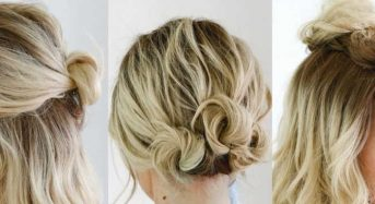 Simple self hairstyles for medium hair
